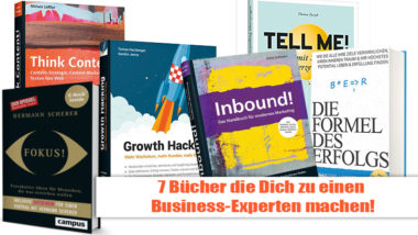 7 Bücher Marketing